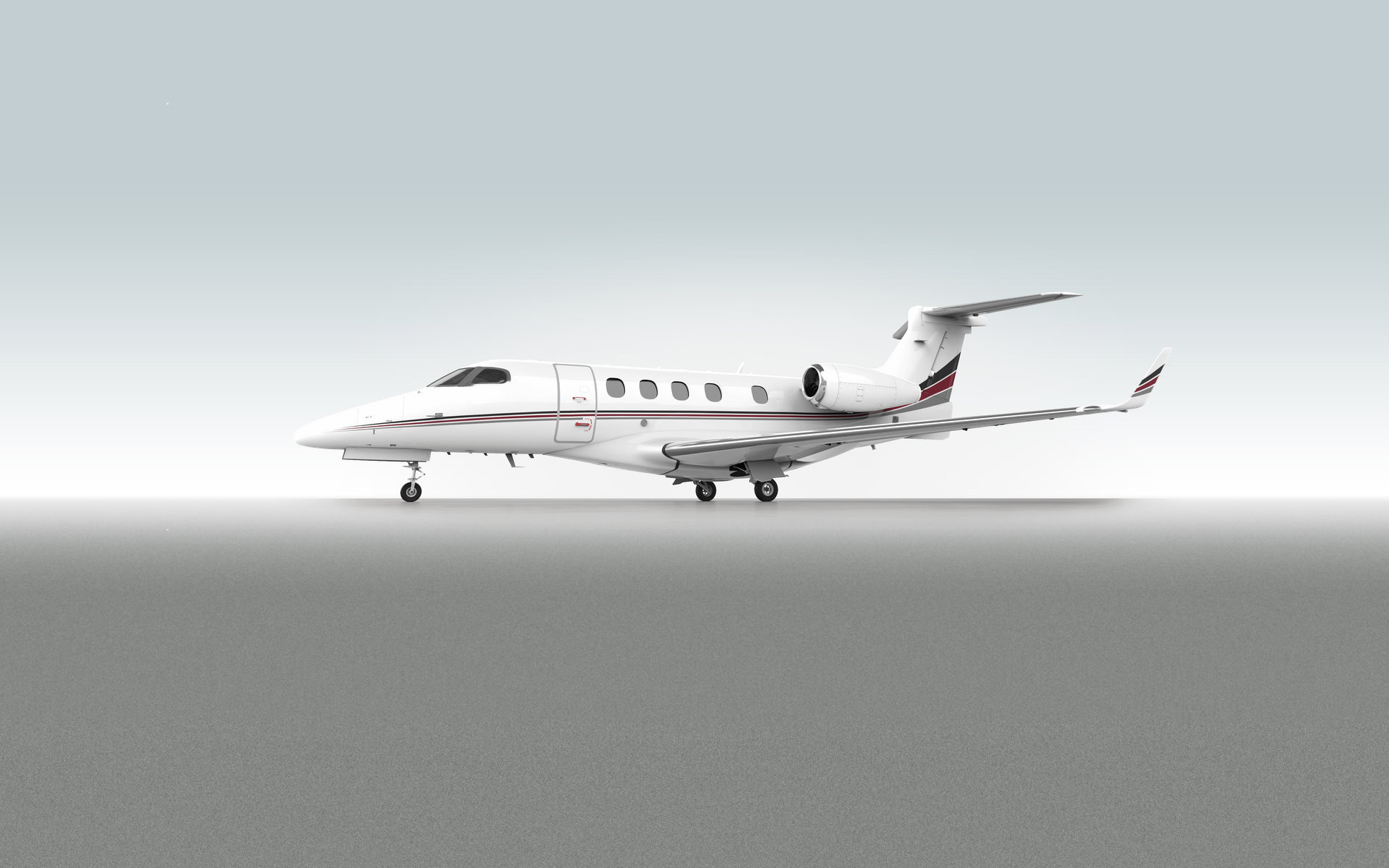 360 VR Virtual Tours of the NetJets | Embraer Phenom 300 – VRCLOUD
