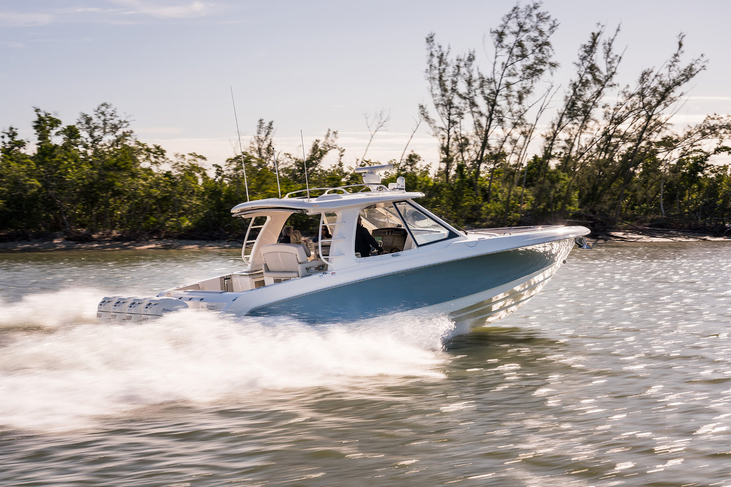 360 VR Virtual Tours of the Boston Whaler 380 Realm – VRCLOUD