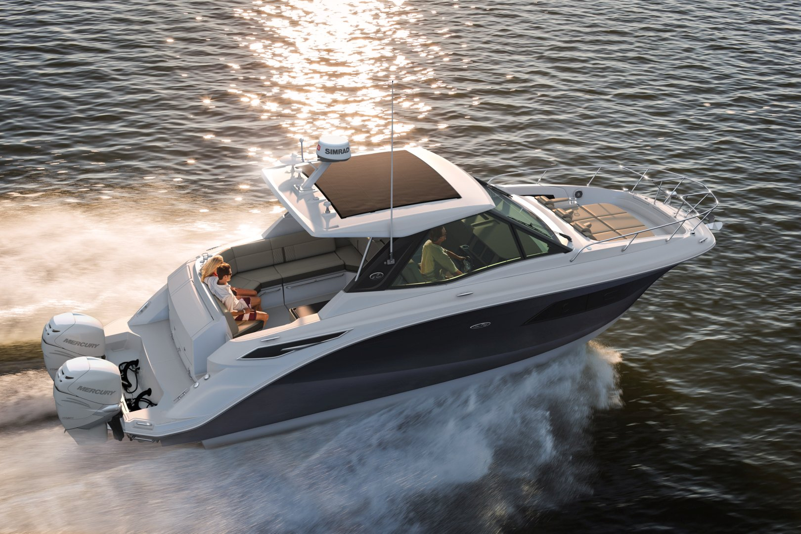 360 VR Virtual Tours of the Sea Ray Sundancer 320 Coupe – VRCLOUD
